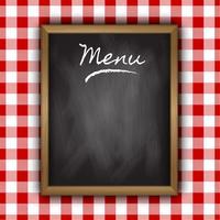 Progettazione del menu di lavagna
