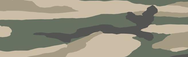 modello senza cuciture geometrico kaki panoramico militare o di caccia - vettore