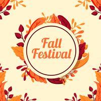 Sfondo autunno Festival