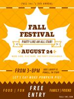 Vettori Funky Fall Festival