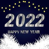 felice anno nuovo 2021 celebrazione sfondo vettore