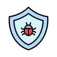 icona di vettore antivirus