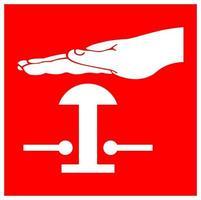 simboli di interruttori a diluvio vettore
