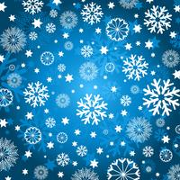 sfondo di fiocco di neve vettore