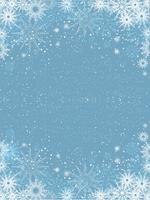 Fiocchi di neve di Natale vettore