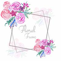 Fondo floreale della struttura di nozze astratte dell'acquerello
