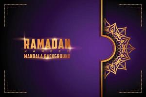 lusso ornamentale mandala logo sfondo stile arabesco vettore