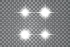 vettore luce solare speciale lente bagliore effetto luce
