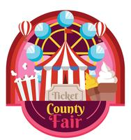 Design Fair Country Vector