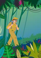 avventura di esploratori della giungla