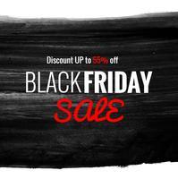 sfondo di vendita venerdì nero moderno