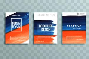 set di brochure aziendali moderni