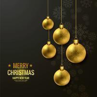 Sfondo moderno di buon Natale vettore