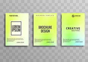 Modello di brochure colorato moderno business