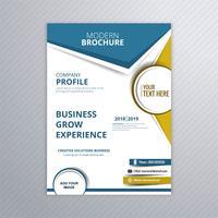 Illustrazione di progettazione del modello di brochure business moderno vettore