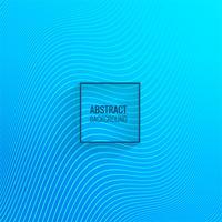 Vettore astratto del fondo dell'onda della linea blu