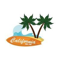 california surf club vettore
