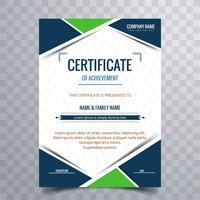 Vettore moderno del fondo del certificato