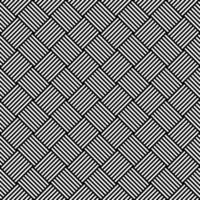 modello senza cuciture sfondo bianco e nero ipnotico vettore
