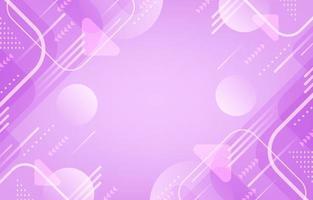 sfondo rosa geometrico astratto vettore