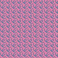 linee ondulate disegno vettoriale, stile memphis. motivo scarabocchio. vettore