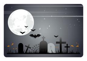 Illustrazione di sfondo vettoriale di Halloween