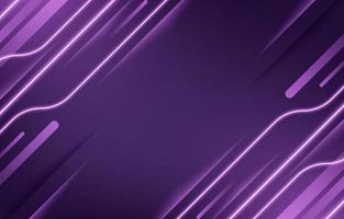 sfondo di tecnologia al neon lilla lavanda vettore