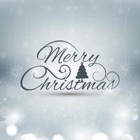Vettore variopinto del fondo della cartolina d'auguri di Buon Natale