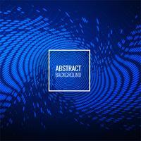 Priorità bassa dell'onda punteggiata blu alla moda di Abstractl vettore