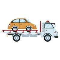 icona del taxi di trasporto del veicolo del camion del vettore di auto