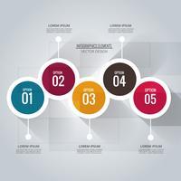 Astratto sfondo infografica creativo vettore