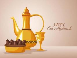 celebrazione del ramadan kareem vettore