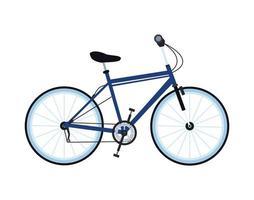 icona isolata di bicicletta veicolo sport vettore