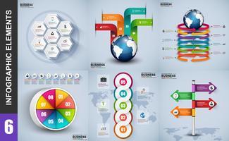 Modello di progettazione della visualizzazione dei dati vettore