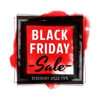 Sfondo astratto vendita venerdì nero