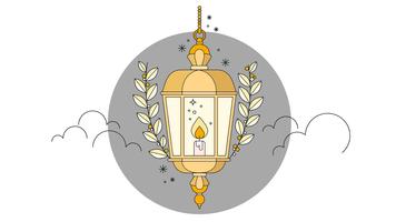 Vettore di lanterna