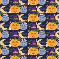 Vector Seamless Pattern di Halloween