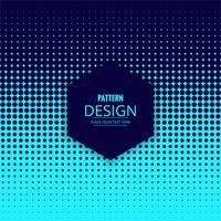 Design pattern mezzotono punteggiato astratto vettore