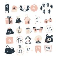 Calendario dell'Avvento di Natale Super Girly