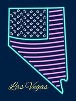 Bellissimi vettori di Las Vegas