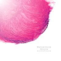 Astratto sfondo rosa disegno ad acquerello vettore