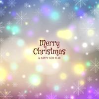 Astratto sfondo colorato di buon Natale vettore