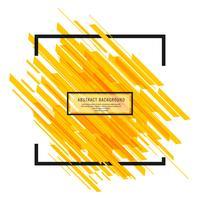 Vettore moderno luminoso del fondo delle linee di giallo