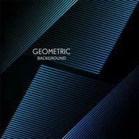 Linee geometriche astratte colorate sfondo vettoriale