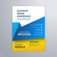 Vettore creativo di progettazione del modello dell'opuscolo di affari