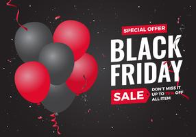 Banner di vendita di Black Friday
