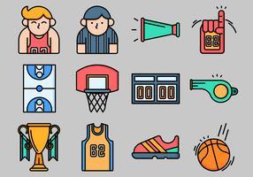 Icona di pallacanestro