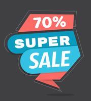 Super vendita vettore