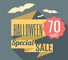 Vendita speciale di Halloween vettore