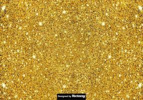 Priorità bassa della polvere di Pixie - struttura dorata di vettore